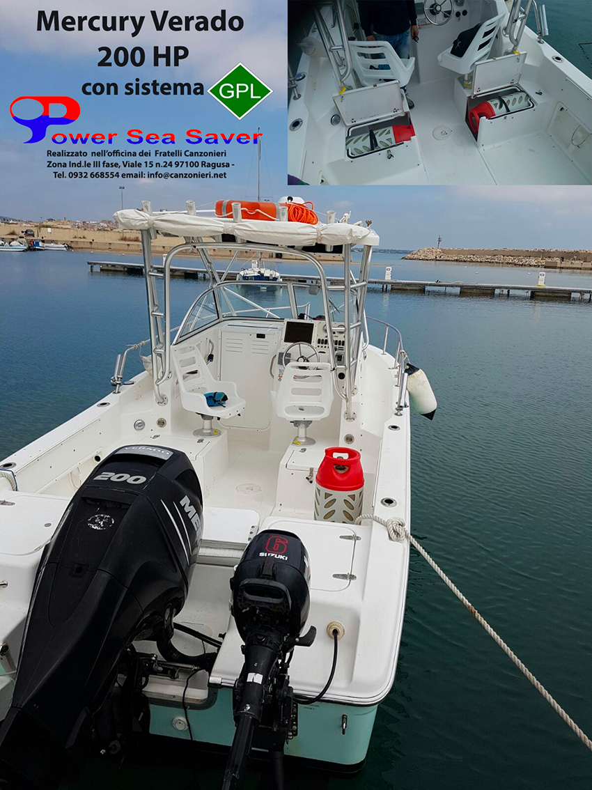 PSS SYSTEM BOAT LPG CONVERSION